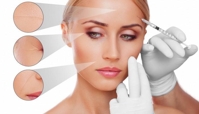 Услуги косметолога. Контурная пластика лица: губы, подбородок, скулы. Омоложение кожи
